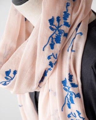 BELLEROSE 2014SS レディース スカーフ JEONIE (417 MATISSE ピンク系)