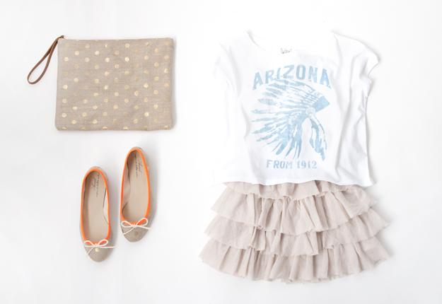 アリゾナTシャツとANNIELのLUNAシリーズ