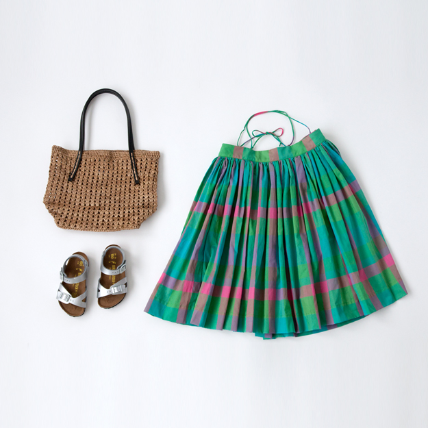 MAKIE_kids_checkdress