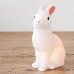 ウサギのミニナイトランプ