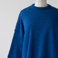 HANNAH by beaumont organic FAYE ニットプルオーバー(BRIGHT BLUE )