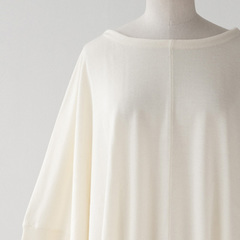 JOHN SMEDLEY NELLE ワイドトップス(WINTER WHITE)