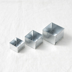 FOG LINEN WORK ボックス 3サイズ セット スクエア