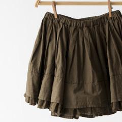 BONTON フリルギャザースカート(431 ブロンズ)10A