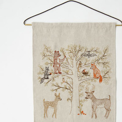 CORAL&TUSK ART FLAGS アートフラッグ(WOODLAND LIVING TREE)