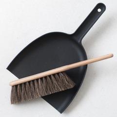 IRIS HANTVERK(イリス・ハントバーク) Dustpan & Brush Set チリトリ&ブラシセット(ブラック)
