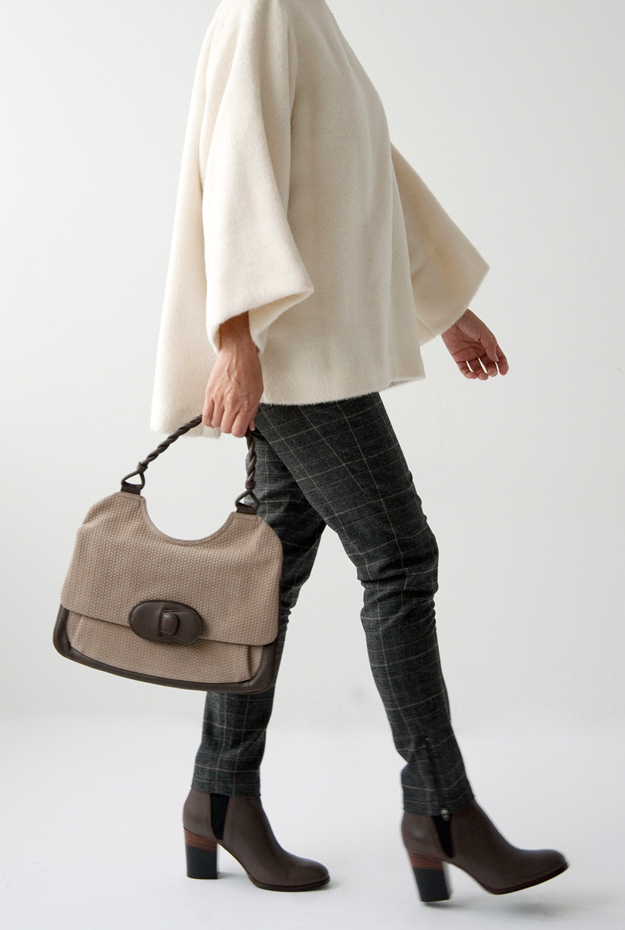 TRADITIONAL WEATHERWEAR TOPS, BONPOINT PANTS,FABIO RUSCONI BOOTS, JAMIN PUECH BAG