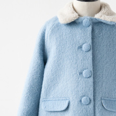CARAMEL 2016AW キッズ LARIMAR COAT ライジングコート(POWDER BLUE ライトブルー)
