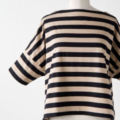 TRADITIONAL WEATHERWEAR BIG MARINE BOATNECK SHIRT S/Sビッグマリン ボートネック シャツ
